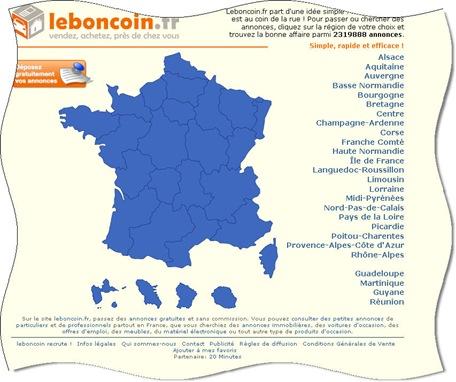 leboncoin fr est un site de petites annonces locales pour les particuliers et les. Black Bedroom Furniture Sets. Home Design Ideas